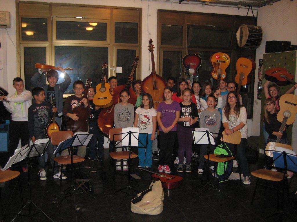 škola mandoline i gitare kud brodosplit
