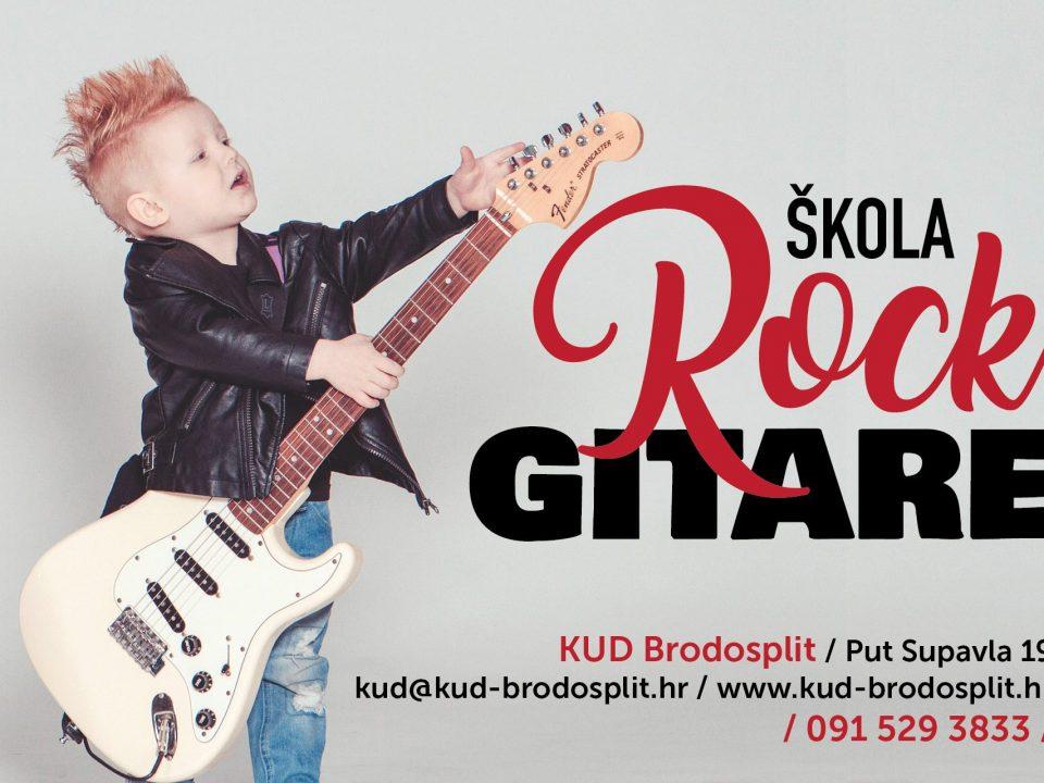skola rock gitare kud brodosplit